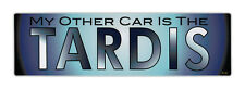 Bumper Sticker - My Other Car Is The Tardis - Doctor Who Decal