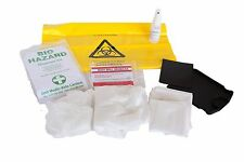 1 Biohazard Body Fluid Spill Disposal Kit - Blood Vomit Sick Urine Clean Up Kit