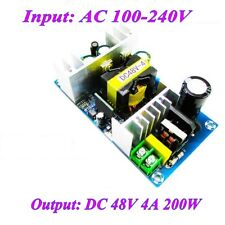 AC 110V 220V to DC 48V 4A 200W Switch Power Supply Board AC-DC Power Module