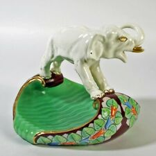 Schale Elefant Royal Dux bunt farbenfroh Art Deco Deko TOP TEIL KLASSE ORIGINAL