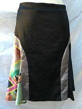 CUSTO BARCELONA Women's Black Skirt 42 8 Retails $108