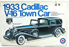 NIB Entrex Japan 1/16 Model Car Kit 1933 Cadillac V-16 Town Car 9029 Plastic