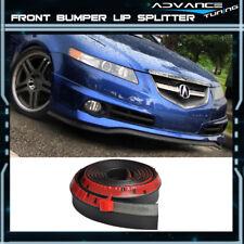 100 Inch For Acura Front Lip Splitter Body Spoiler Valance Chin EZ To Install