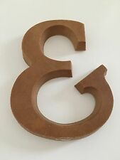 Vintage Wall Plaque & And Sign Style - Alphabet Wall Hanging - Rare