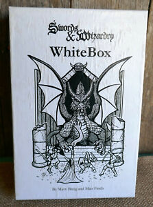 Swords & Wizardry WhiteBox RPG Boxed Set OSR D&D 2010 retro clone of orig D&D