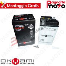 BATTERIE OKYAMI B49-6 C/ACIDE MOTORRAD MORINI TOURISME 175