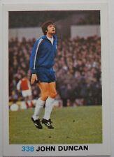 FKS Soccer Stars 1977-1978 NUMBER 338 JOHN DUNCAN