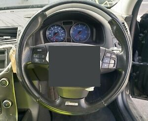 VOLVO C30 V50 S40 R DESIGN 2011 LEATHER STEERING WHEEL MULTIFUNCTIONAL GENUINE