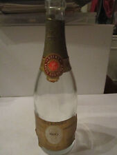 1970 LOUIS ROEDERER CRISTAL CHAMPAGNE BOTTLE - EMPTY COLLECTIBLE BOTTLE -TUB OFC
