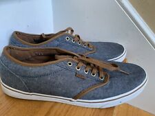 Vans Shoes Sneakers Size 13M /47 Blue Great Condition