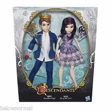 Disney Descendants Two-Pack Mal Isle of the Lost & Ben Auradon Prep Dolls 2 pack
