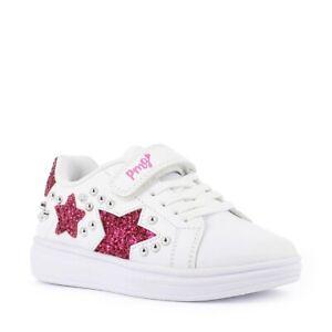 PRIMIGI 7457511 Schuhe Leder Mädchen Mode Weiß Glitter