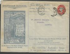 GB 1894 QV 1/2d STO ES18a Advertising Postal Stationery William Brown Importer