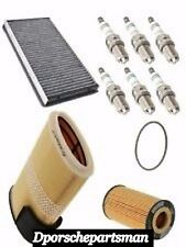 Porsche Boxster{'07-'08}OEM Tune Up Kit (Air & Oil Filters + Spark Plugs)NEW #NS