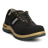 TT LEATHER WORK SAFETY STEEL TOE CAP ANKLE BOOTS SHOES TRAINERS MENS SIZE HIKER