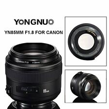 Yongnuo YN85MM F1.8 AF/MF Medium Prime Fixed Telephoto Lens for Canon 80D 70DUK