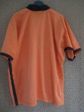 Maillot Rugby PUMA Orange et noir 90'S Vintage manche courte - L