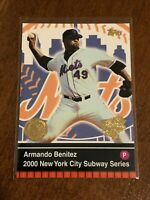 2000 World Series Topps Baseball Base Card - Armando Benitez - New York Mets