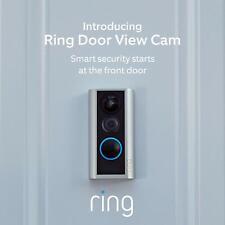 >>> BRAND NEW - RING DOOR VIEW PEEPHOLE CAM – Smart video doorbell, HD video <<<