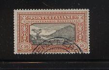 Italy   Manzoni issue   168      used      catalog  $200.00         KL0830