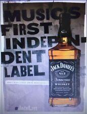 "Jack Daniels ""Independent Label"" Poster 18 x 26 new"