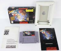 SNES Street Fighter Alpha 2 w/ Box, Manual & Paperwork Authentic Super Nintendo