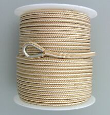 8mm x 100M Double Braid Nylon Anchor Rope, Super Strong, Great for Drum Winches
