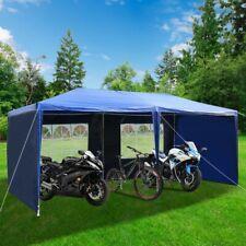 10'x20' Ft Storage Shed Logic Tent Shelter Car Garage Steel Carport Canopy