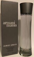 Armani Mania By Giorgio Armani For Men 3.4oz  Edt Spray.
