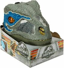 Jurassic World Chomp N Roar Velociraptor Blue Fallen Kingdom Dinosaur head cover