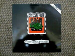 "Citizen Fish: Wider Than a Postcard - 12"" vinyl record LP - RARE - FREE POST"
