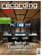 Best Of Musikstudio Equipment - Audio Interfaces - Monitore - Mikrofone uvm