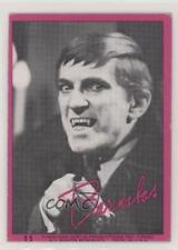 1968 Philadelphia Dark Shadows Series 1 #11 Barnabas Collins Non-Sports Card 0a3