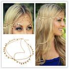 YEH Celebrity Lady Tassel Metal Head Chain Headpiece BOHO Band Hair Headband Hot