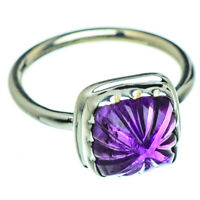 Amethyst 925 Sterling Silver Ring Size 9 Ana Co Jewelry R47667F