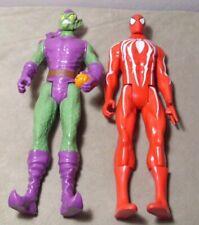2014 Marvel Hasbro 12 Inch Green Goblin and Spiderman