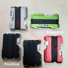Metal Army Clip Outdoor Pocket Wallet Tactical Multi-function ARMY Wallet Card
