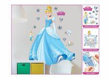 Walltastic 44340 - Wandaufkleber, Disney Cinderella Large Wall Stickers NEU NEW