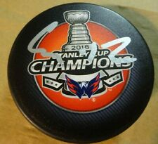 Autographed EVGENY KUZNETSOV Signed Washington Capitals 2018 Stanley Cup Puck