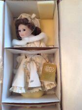 Franklin Mint Heirloom Elizabeth Ann by Janet Johnson Porcelain Doll Mint Find