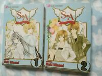 SA (Special A) Manga Vol 1,2 by Maki Minami, Shojo Beat, English