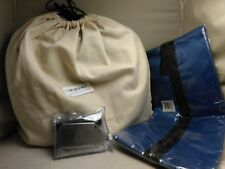Globite Memory Foam Neck Pillow / Travel Shoe Bags / 3 Lost Luggage Airline tags