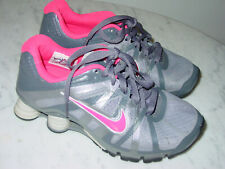2011 Womens Nike Shox Roadster+ Stealth Grey/Pink Flash Running Shoes! Size 6.5