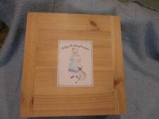 """Vintage Lynne Roche """"Dilly's Birthday Surprise"""" ~ Clothes & Wood Box ~ (NO DOLL)"""