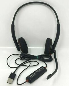 Plantronics Blackwire C320 USB Headset With Noise Cancelling Microphone