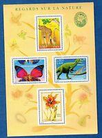 France Bloc N°31 Série Nature de France Faune et Flore 2000 Neuf Luxe