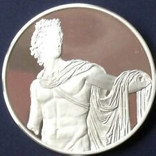 SILVER MEDAL 925/1000 APOLLO BELVEDERE - GREECE