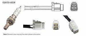 NGK NTK Oxygen Lambda Sensor OZA721-EE28 fits Subaru Forester 2.0 GT (SF)