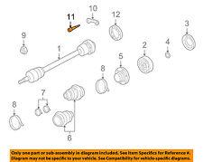 PORSCHE OEM 2007 911 Drive Axles-Rear-Mount Plate Screw 99907309202