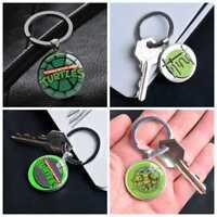 Teenage Mutant Ninja Turtles Silver Keychain Keyring Pendants Keychains Gifts